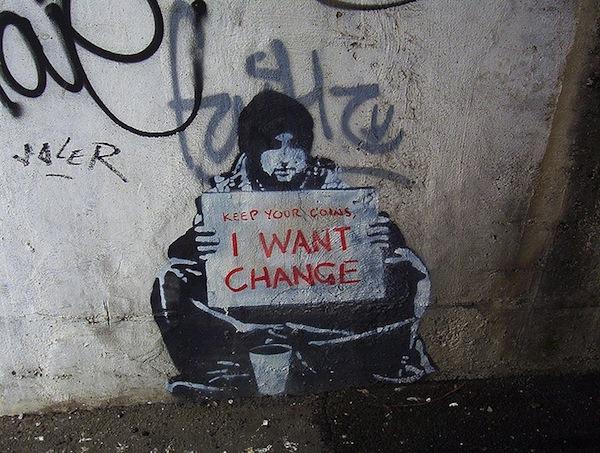 Banksy - Change
